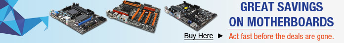 Great Savings on Motherboards