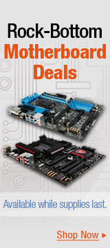 Rock-Bottom Motherboard Deals