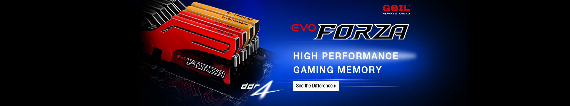 High performance gaming memory