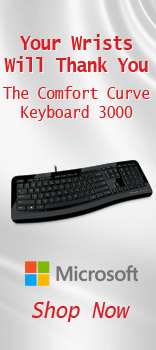 Microsoft The Comfort Curve Keyboard 3000