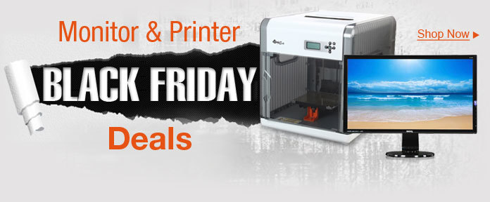 Monitor & Printer Black Friday Deals