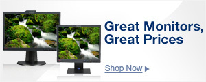 Great Monitors, Great Prices