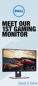 MEET OUR 1ST GAMING MONITOR