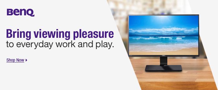 Bring viewing pleasure to everyday work and play.