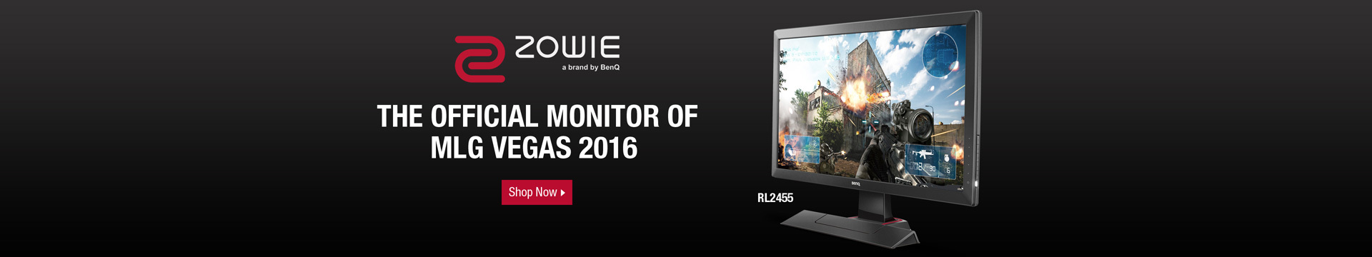 The official monitor of MLG Vegas 2016