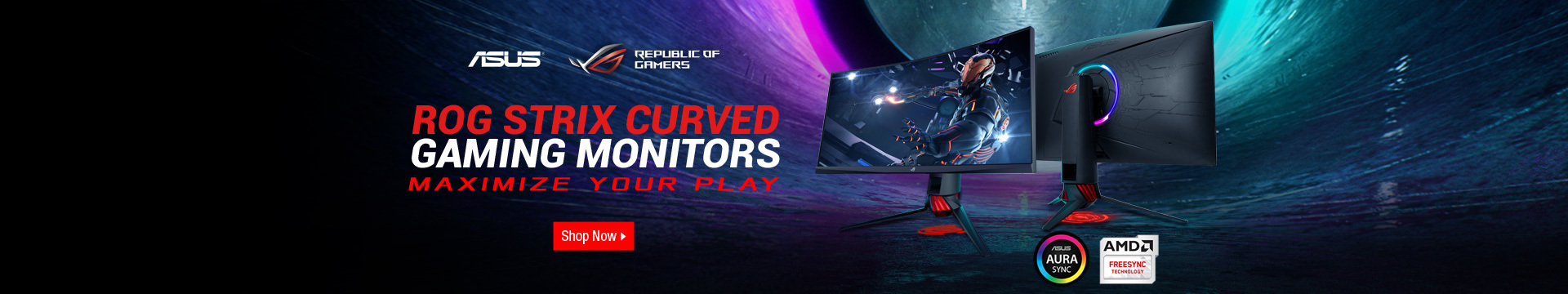ASUS ROG Curved Monitors