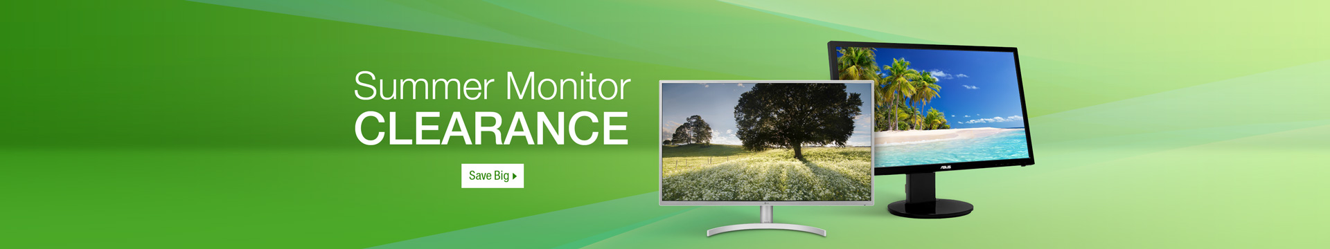 Summer Monitor clearance