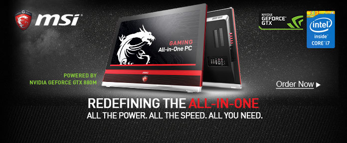 New MSI All-In-One