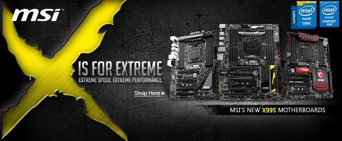 MSI X99