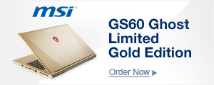 GS60 Ghost Limited Gold Edition