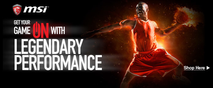 Get Your Game on with Legendary Performance