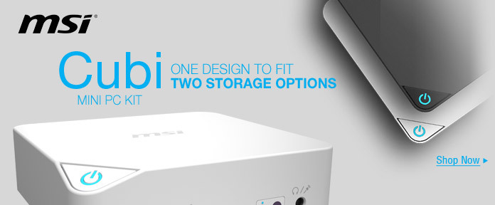 ONE DESIGN TO FIT TWO STORAGE OPTIONS