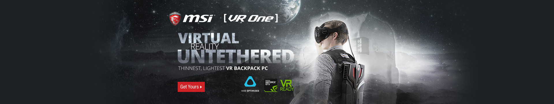 Virtual reality untethered
