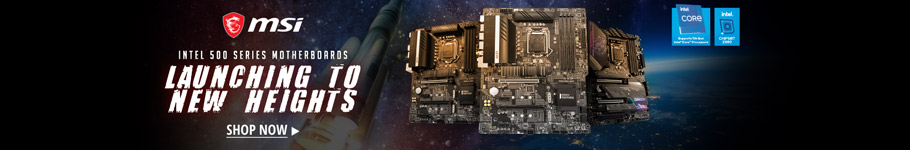 Intel 500 series motherboards