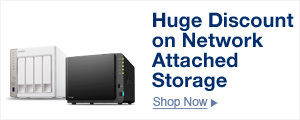 Huge Discount on Network Attached Storage