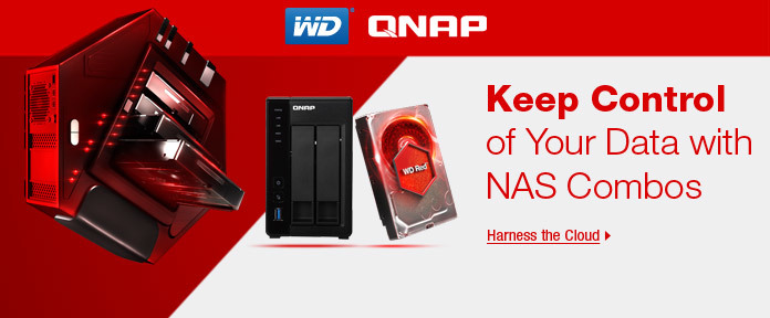 Keep Control of your Data with NAS Combos