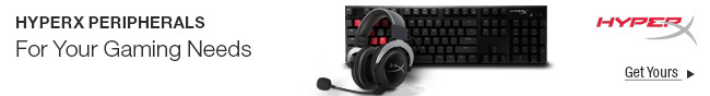 Hyperx Peripherals For Your Gaming Needs