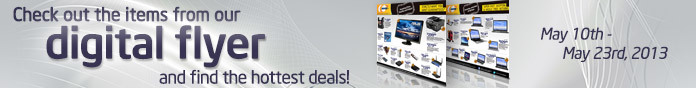 Check out the item from our digital flyer and find the hottest deals