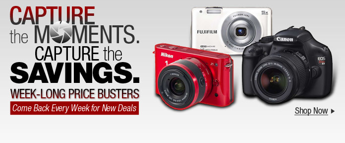 Capture the Moments. Capture the Savings