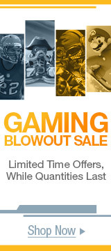 Gaming blowout sale