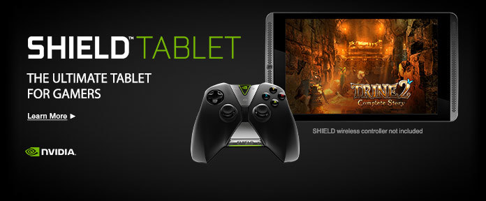 Shield Tablet for Gamers