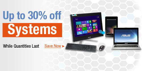 Up To 30% Off Systems