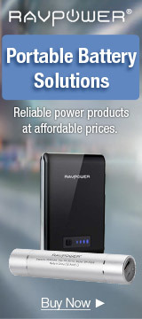 RAVPower Portable Battery Solutions