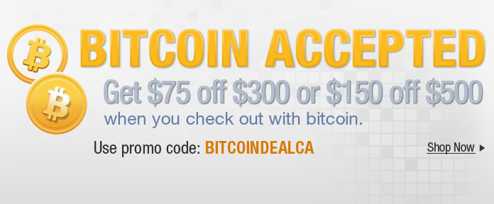 Bitcoin Accepted.Take charge of the way you shop