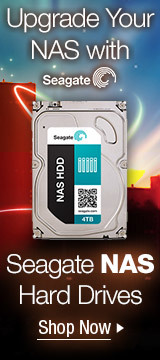 Upgrade Your NAS with Seagate