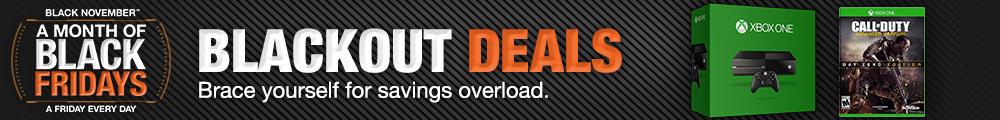 Blackout deals