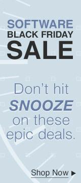 Software Black Friday Sales