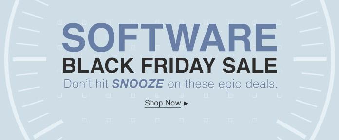 Software Black Friday Sale