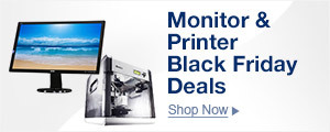 Monitor & Printer Black Friday Deals