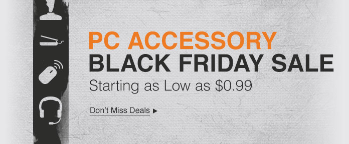 PC Accessories Black Friday