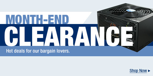 MONTH-END CLEARANCE