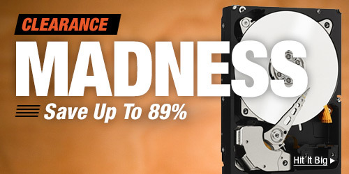 MADNESS save up to 89%