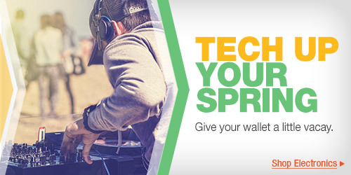 Tech Up Your Spring Break