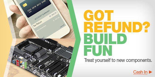 GOT REFUND? BUILD FUN