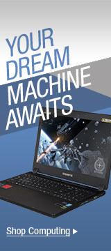 YOUR DREAM MACHIN AWAITS
