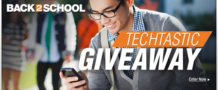 Back 2 School Techtastic Giveaway