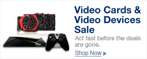 Video Cards & Video Devices Sale