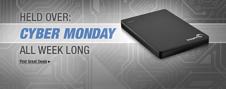 Cyber Monday All Week Long