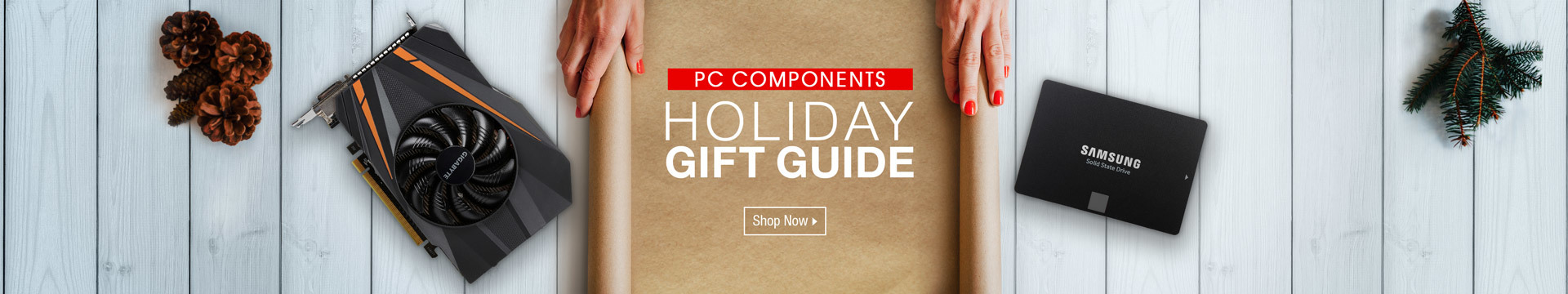 Holiday gift guide - PC components
