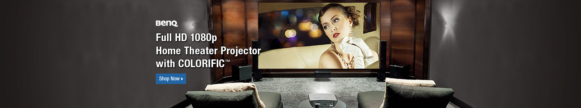 Full HD 1080 P Home Theater Projector with Colorific