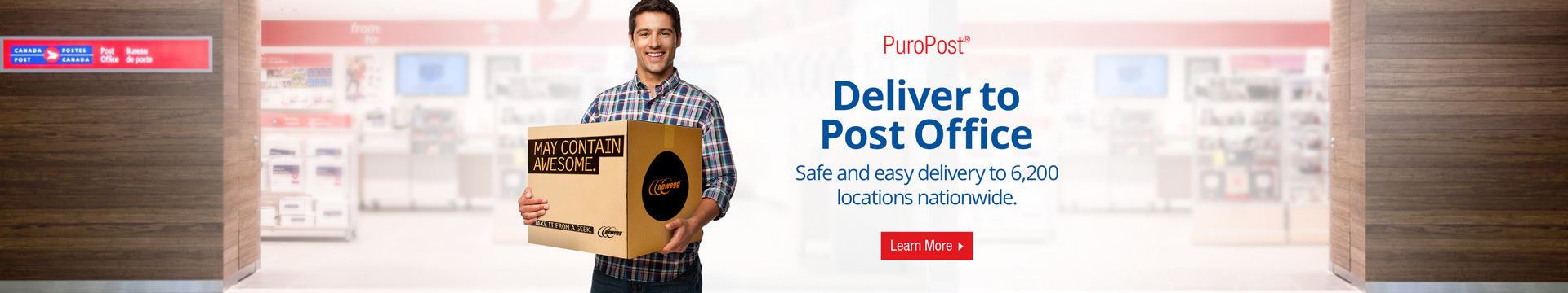 Deliver to Post Office