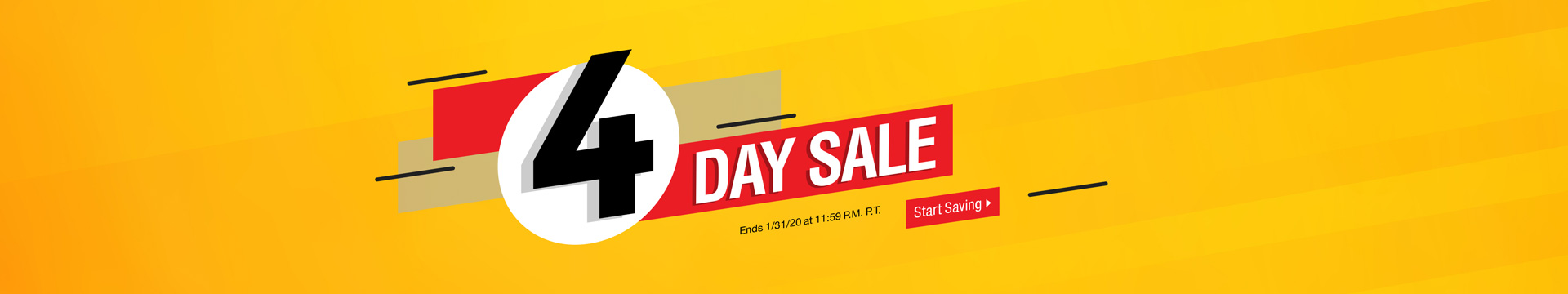CAN 4-Day Sale