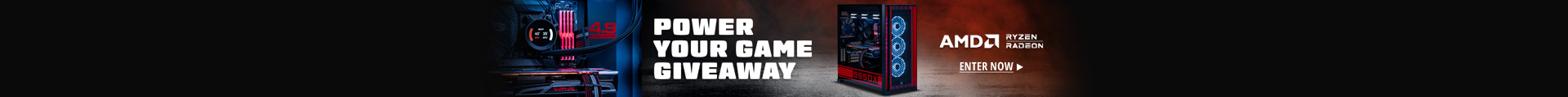 POWER YOUR GAME GIVEAWAY