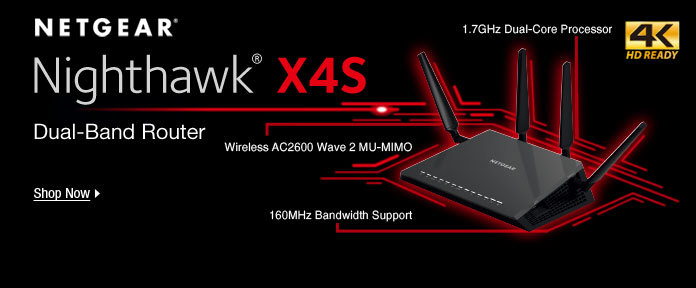Nighthawk X4S Dual-Band Router
