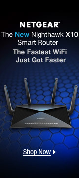 The New Nighthawk X10 Smart Router