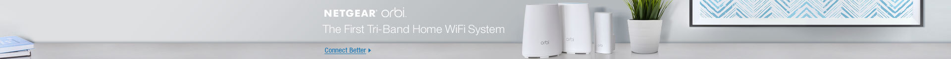 The First Tri-Band Home WiFi System